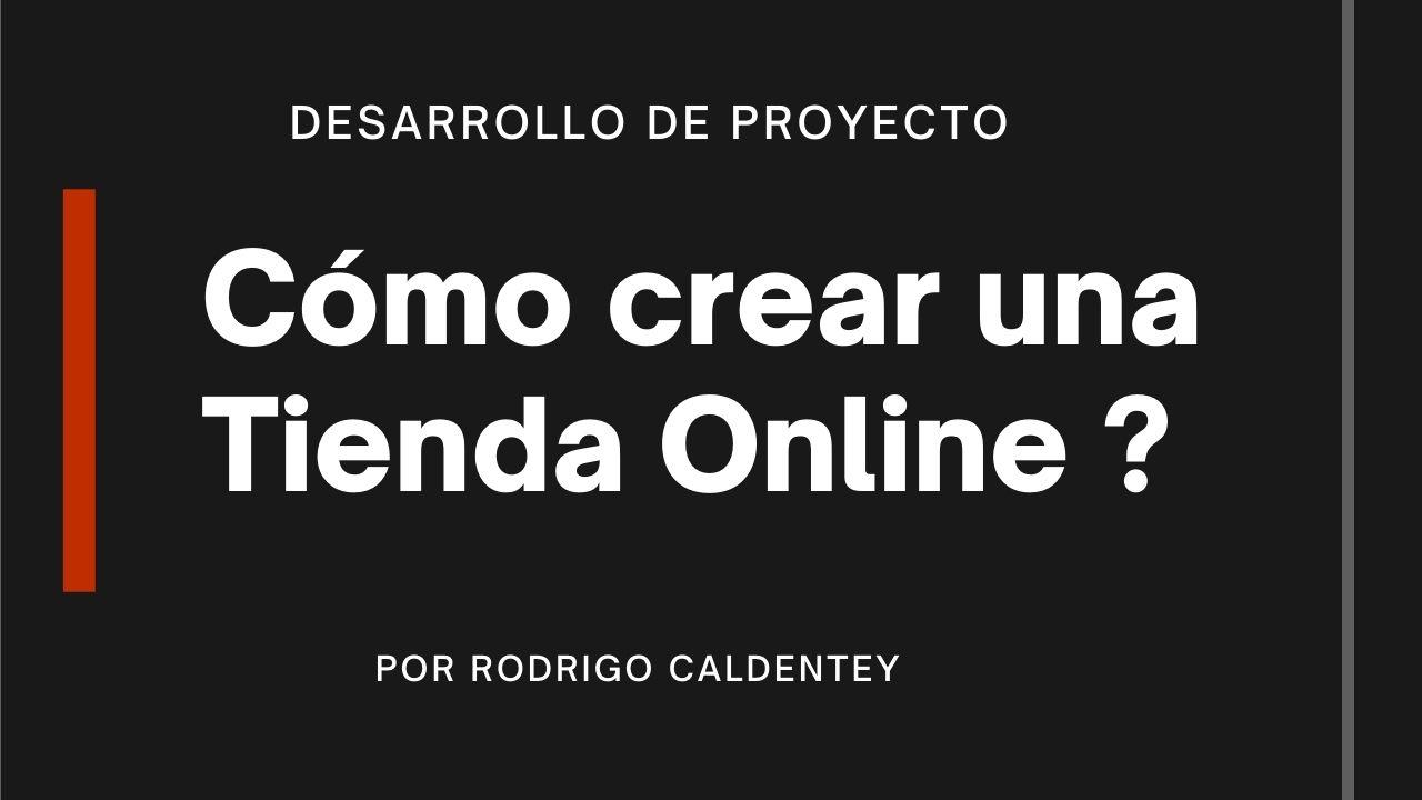 Como crear una tienda online portada